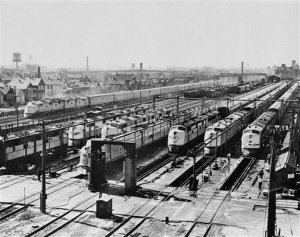 Railroad  Diesel Electric Locomotives